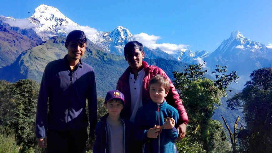 Hiking Family Tour in Nepal